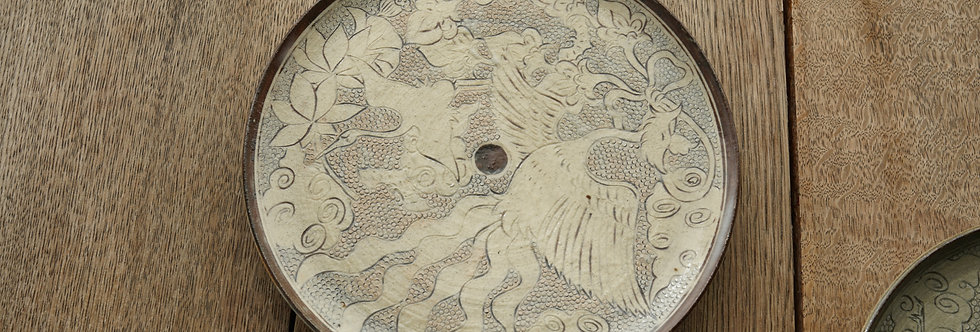 土本訓寛・久美子 皿 tea plate PMD2001A