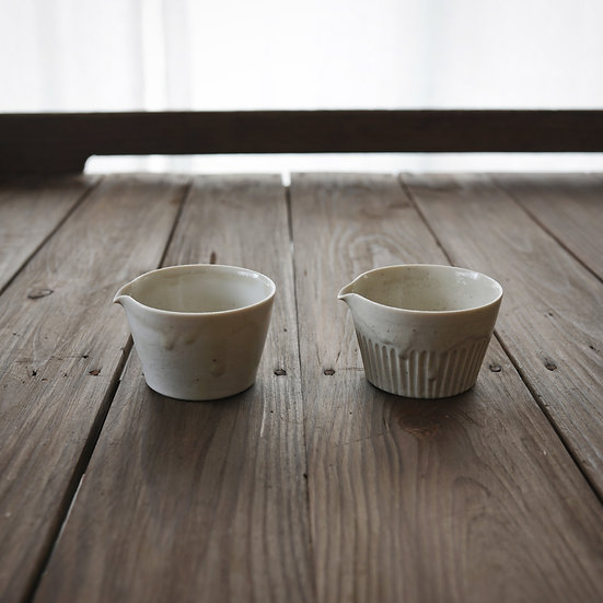 竹下努 青白磁茶海(SS) | Bluish white porcelain tea pitcher SS by Tsutomu Takeshita