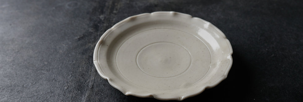 竹下努 皿 teapot plate ETT2201