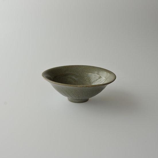 紫砂青瓷刻花盃02 cup