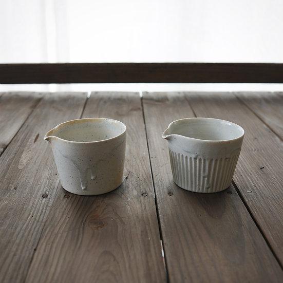 竹下努 青白磁茶海(S)   Bluish white porcelain tea pitcher S by Tsutomu Takeshita