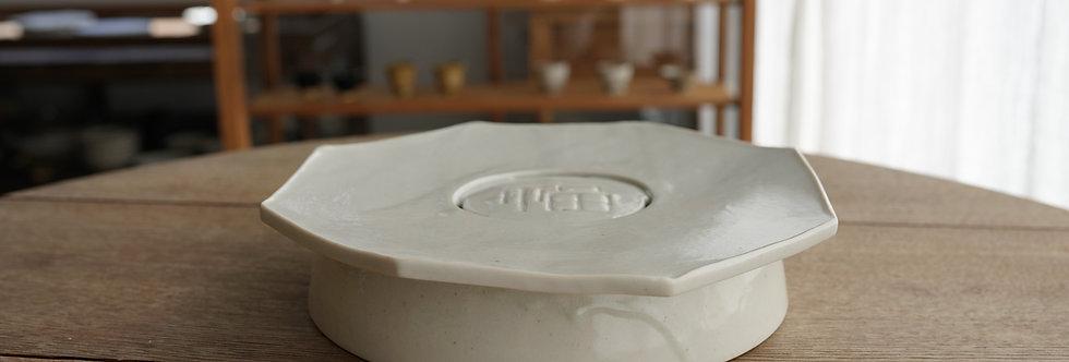 竹下努 茶盤/壺承(大) teapot plate ETT1104