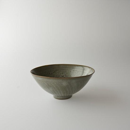 紫砂青瓷印花茶碗01 chawan