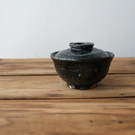 清水志郎  智積土蓬莱黒蓋碗 | Gaiwan by Shiro Shimizu