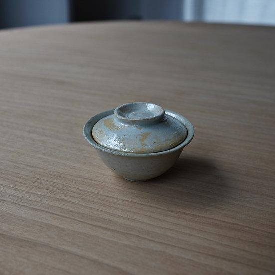 白瓷一人用蓋碗03 タナカシゲオ