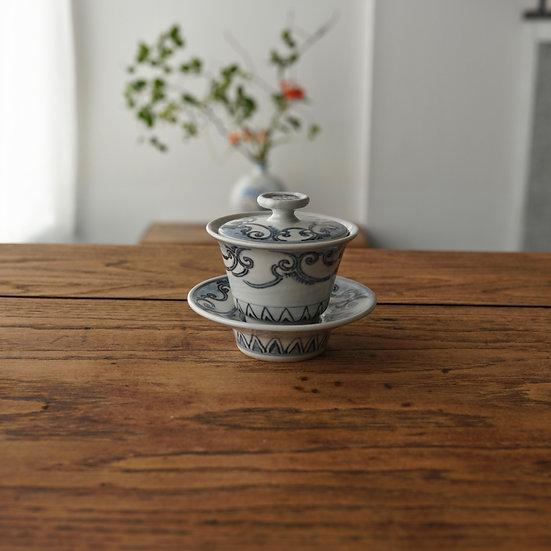 雲気紋蓋碗(小)03 gaiwan