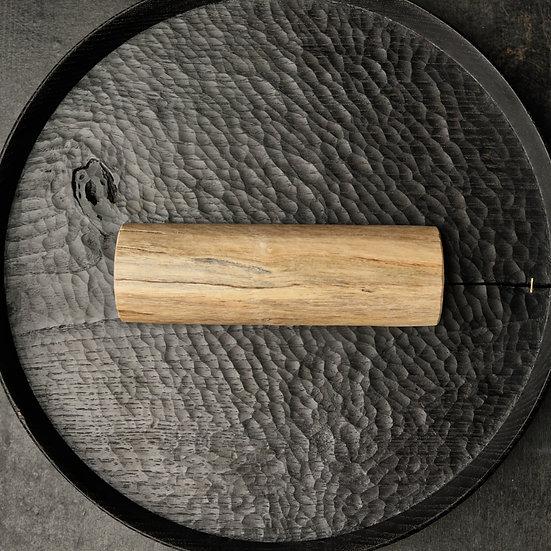 カキ無塗装茶則 tea scoop EKM2030B