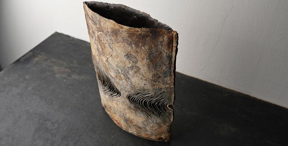 泉田之也  積層花器 Laminated vase  EYI2044