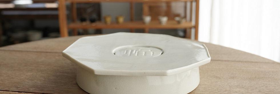 竹下努 茶盤/壺承(大) teapot plate ETT1106