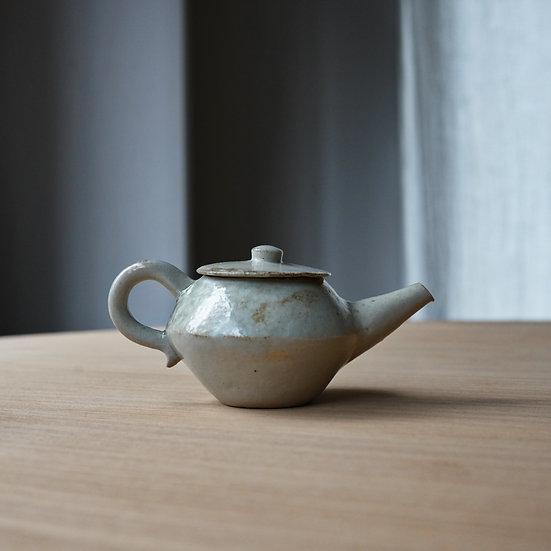 白瓷算盤茶壺 タナカシゲオ