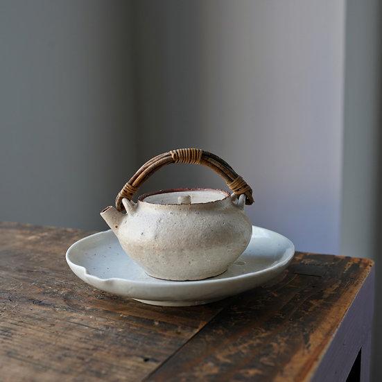 Teapot 12 by Baokun Sun | 孫宝坤 白釉茶壺12