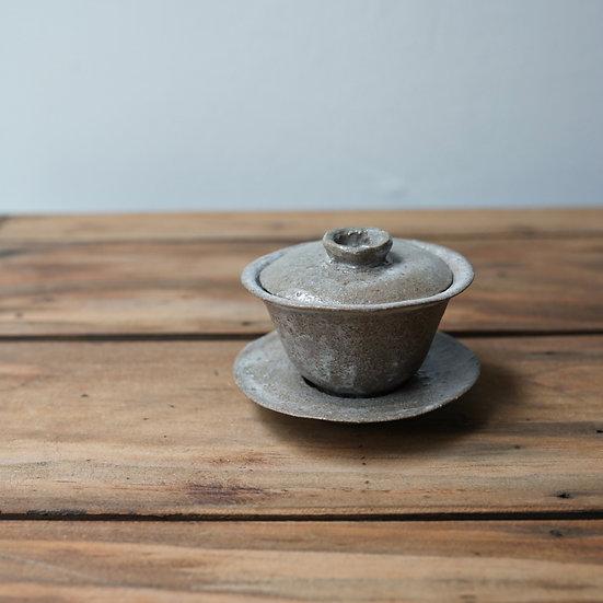 清水志郎  馬町土朝唐釉一人用蓋碗35cc A   Gaiwan by Shiro Shimizu