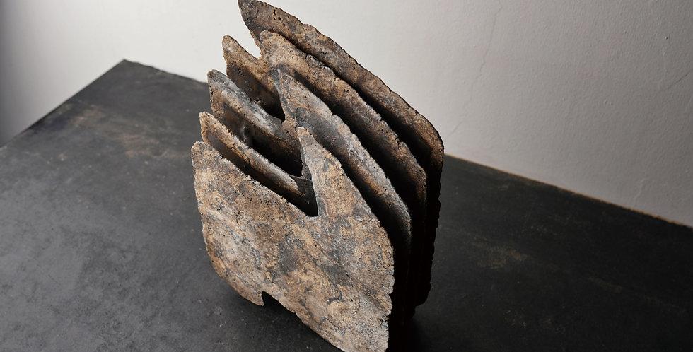 泉田之也  積層花器 Laminated vase  EYI2047
