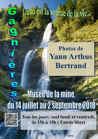 Exposition photos de Y.A.Bertrand           (l'eau est la source de la vie...)