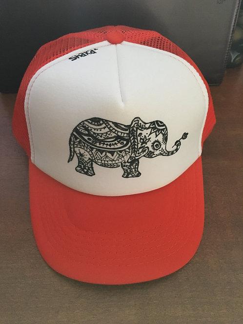 Hand Drawn Trucker Mesh Hat