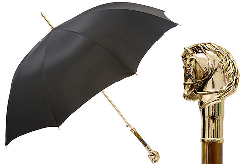 Golden Horse Umbrella