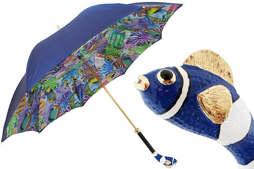 Blue Nemo Umbrella