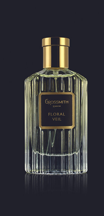 Grossmith Black Label Collection Floral Veil