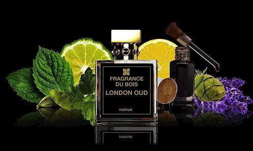 Fragrance du Bois LONDON OUD 100ml Flag Edition