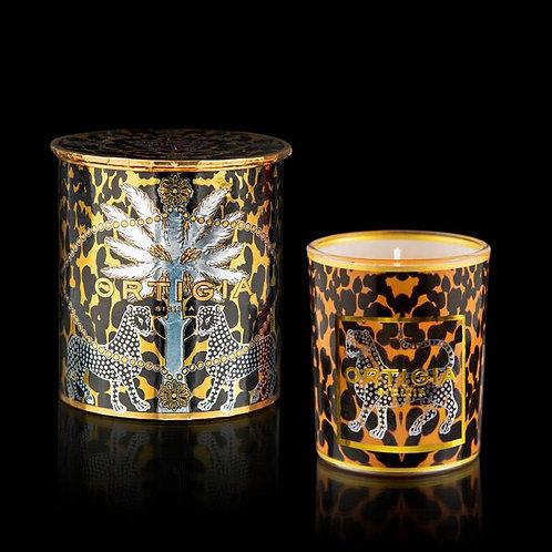 Ambra Nera Decorated Candle