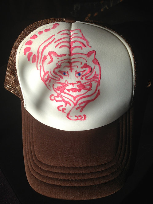 Hand Drawn Trucker Mesh Hat