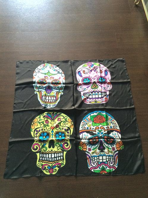 Limited edition Skull silk scarf