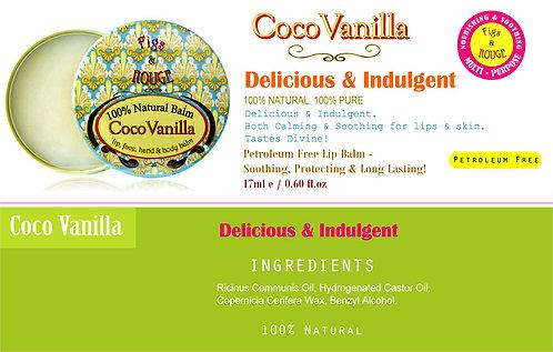 Figs & Rouge Coco Vanilla Lip Balm 17ml