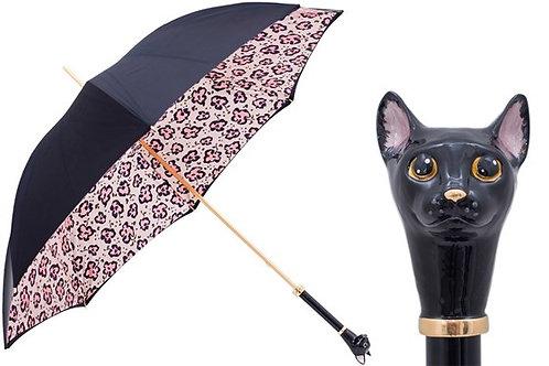 Black Cat Umbrella and Animalier Print