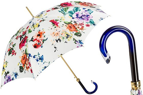 Spring Umbrella with Flowers