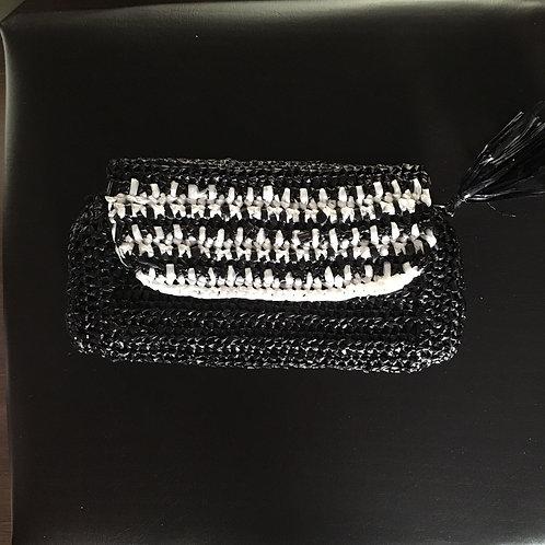 Greek knitted handmade bag