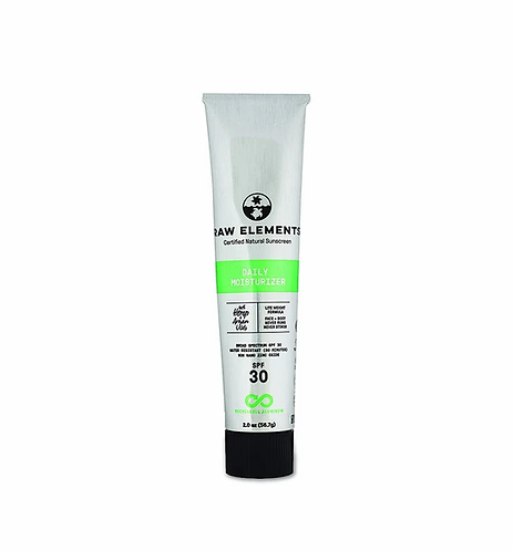 Raw Elements DAILY MOISTURIZER ALUMINUM TUBE SPF 30