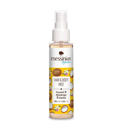 Hair & Body Mist - Coconut & Sunflower & Vanilla- 100ml