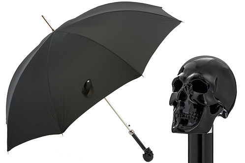 Black Skull Umbrella