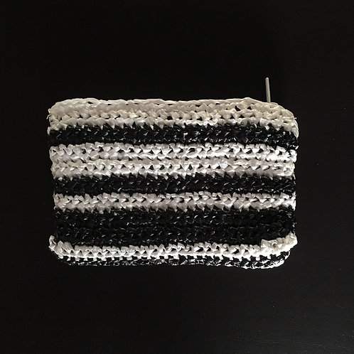 Greek knitted handmade bag
