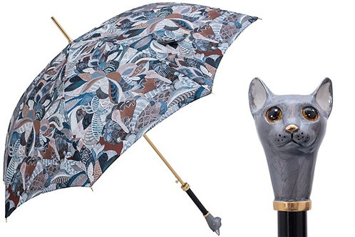 Grey Cat Umbrella