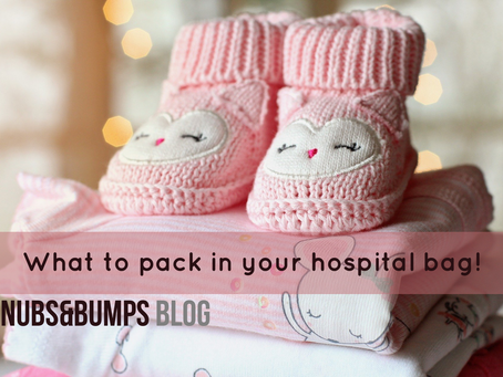 What to pack in your hospital bag!