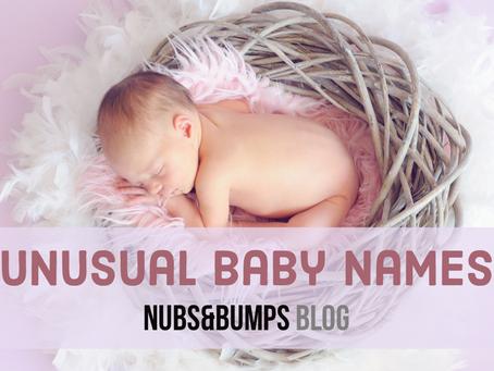 Unusual baby names
