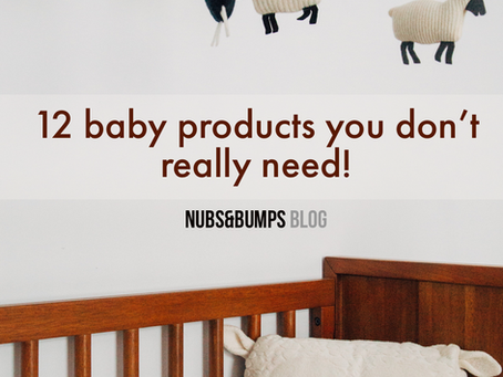 A practical guide to buying  baby essentials