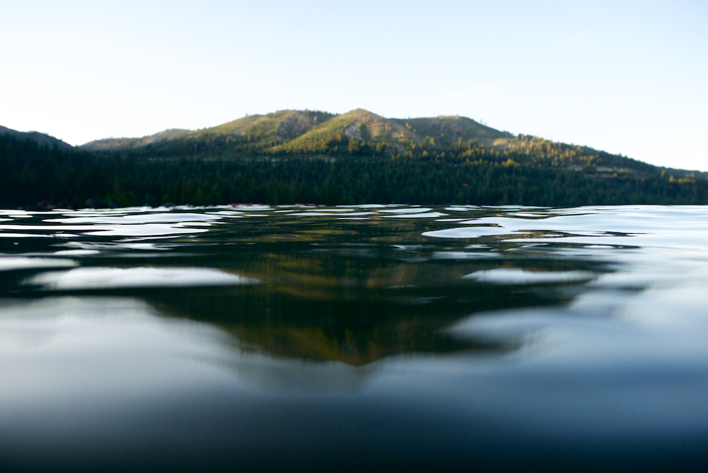 Donner Lake Mountain Reflection  001