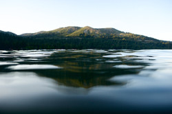 Donner Lake Mountain Reflection  001
