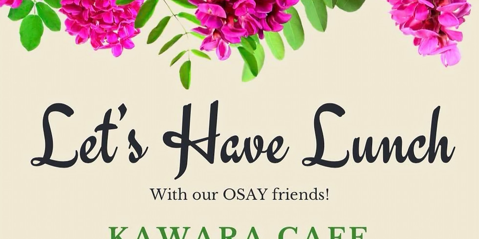 Lunch @ kawara CAFE & DINING (8F)