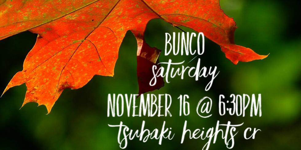 November Bunco