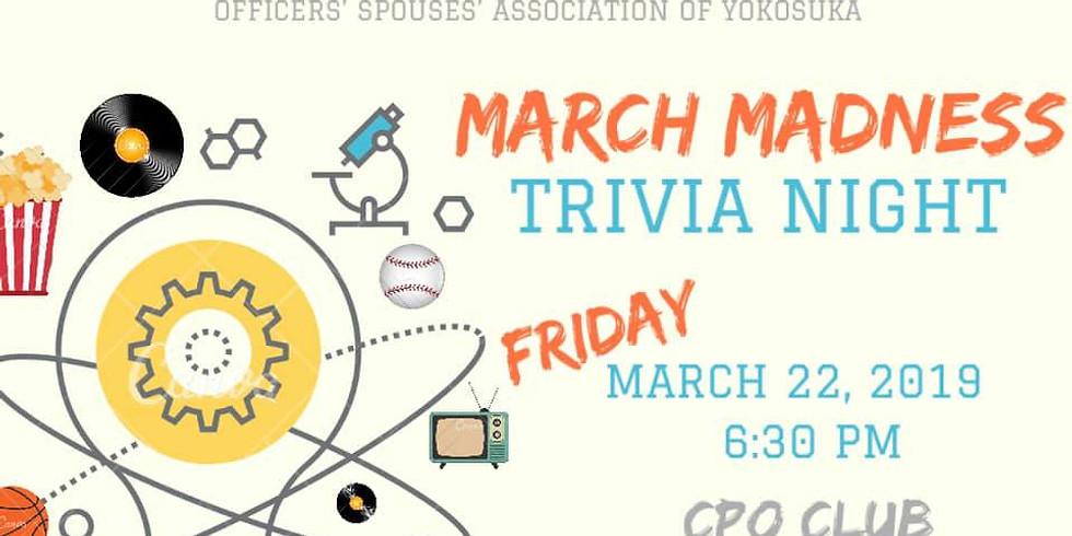 """March Madness"" Trivia Night!"
