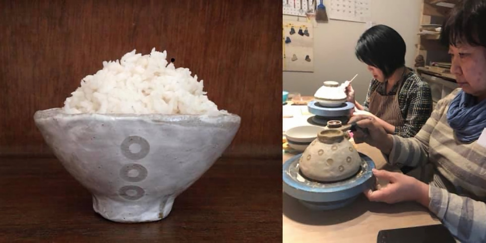 Make Your Own Rice Bowl and Chopstick Rest