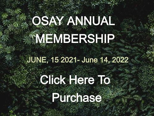 Annual OSAY Membership