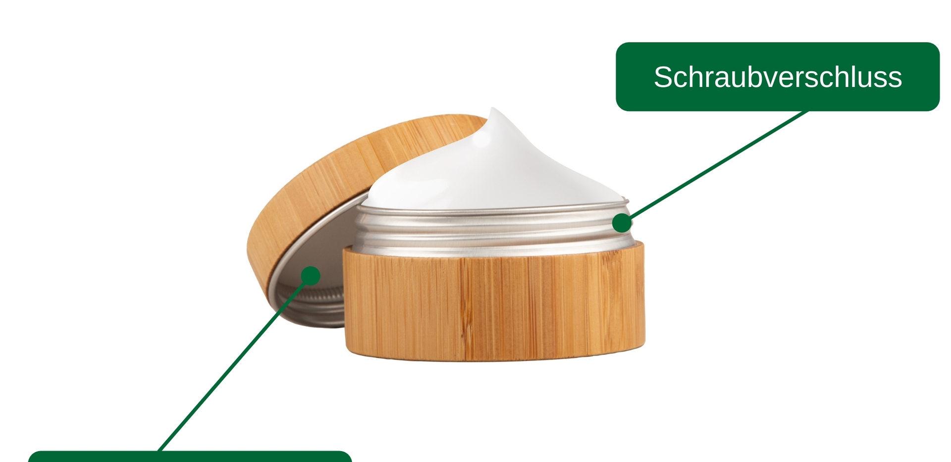 Durch den dichten Verschluss können selbst Cremes und Kosmetik sorgenfrei mitgenommen werden