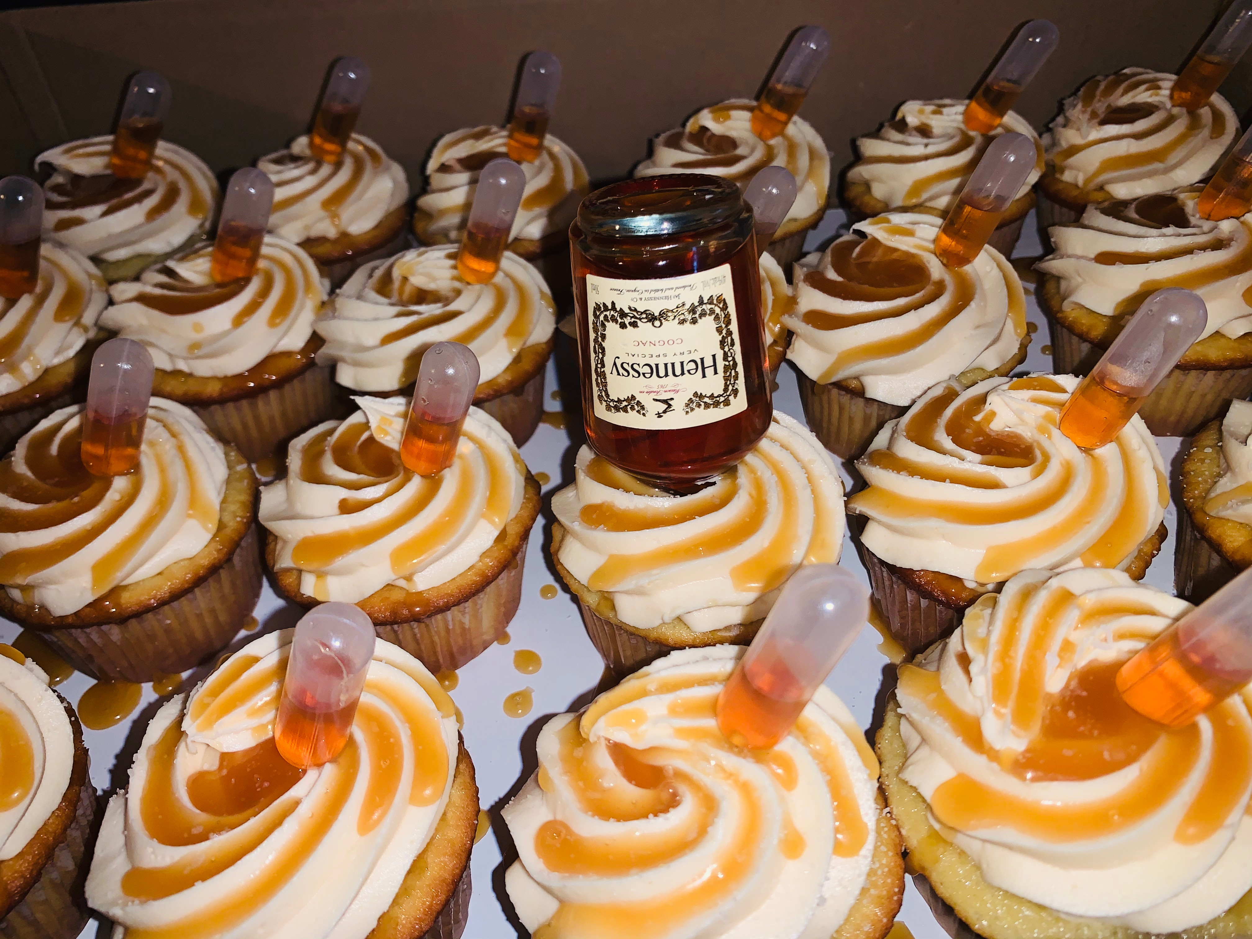 Infused Cupcakes