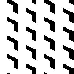 Jigsaw Blocks White