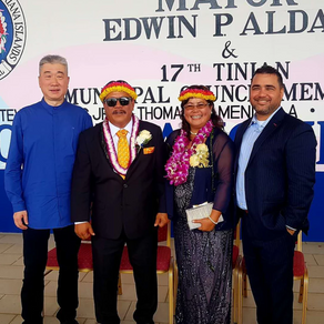 2019 Welcoming New Tinian Mayor Edwin P. Aldan