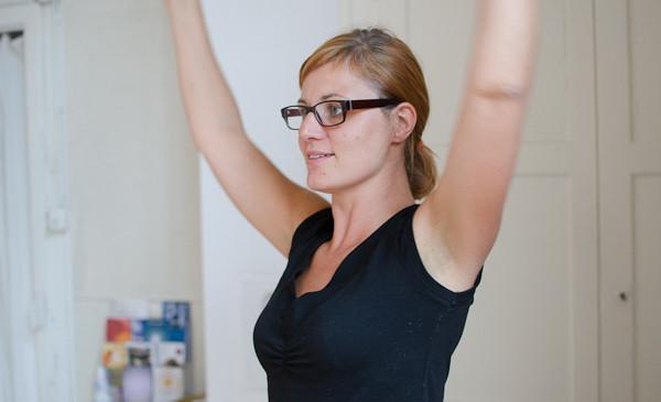 Celebrity Nude Yoga Sitzung Gif
